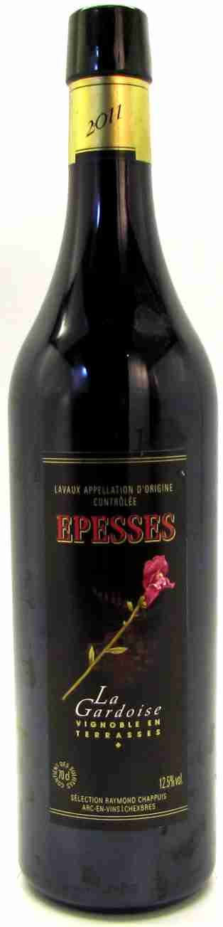 Epesses AOC Lavaux, Assemblage rouge